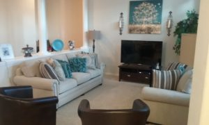 We Are Family Residential Care Home- Living Room