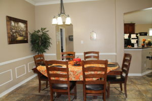 Plantation Assisted Living Dining Room